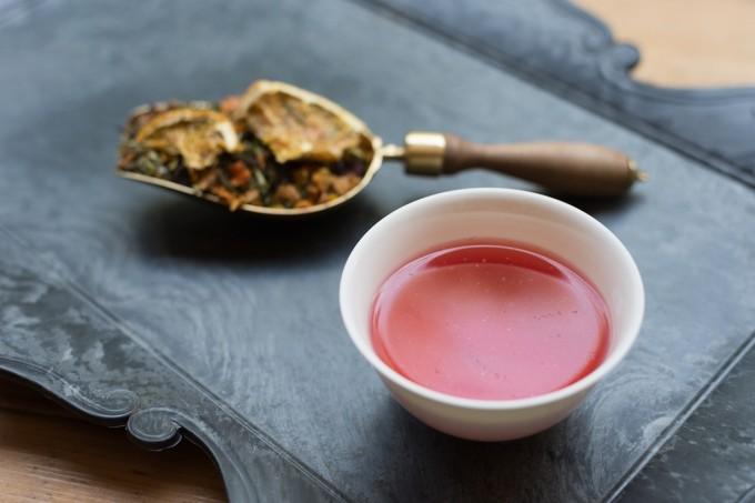清澄白河にある紅茶専門店「TEAPOND」で提供されている香りの庭