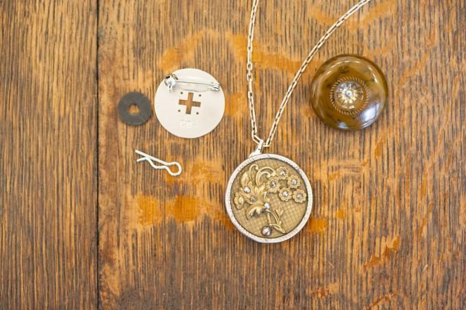 馬喰町アンティークボタンのお店CO-(コー)のボタン活用アイデア