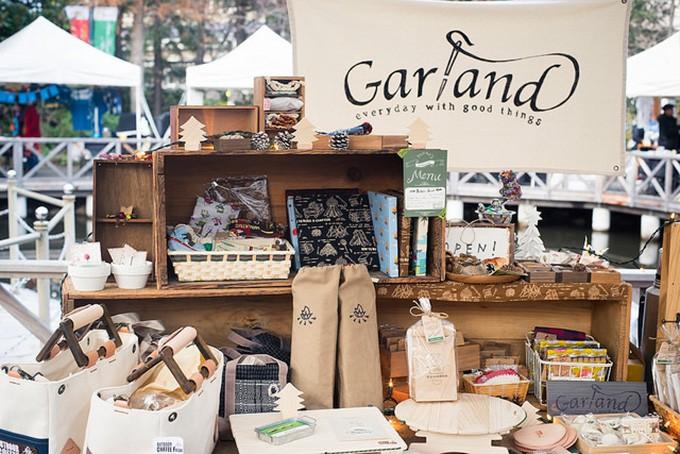 アウトドア系雑貨屋・garland(ガーランド)のイベントの様子