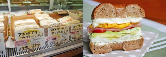 ポムドテールのサンドイッチ