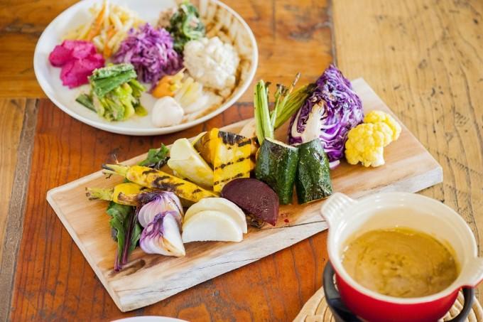 農家レストラン「table beet」のバーニャカウダ