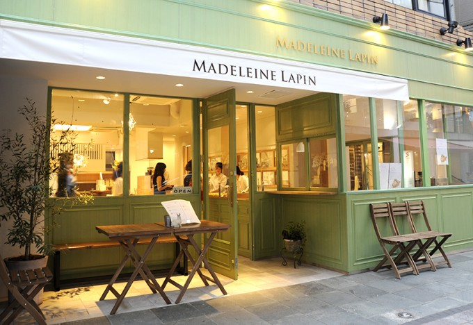 Madeleine Lapinの店舗