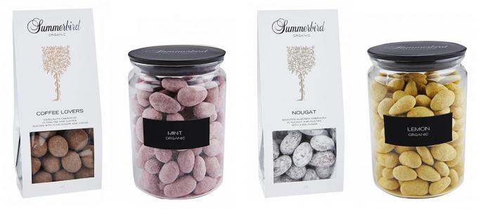 デンマーク発のチョコレートブランド「Summerbird Organic」のお持ち帰り用チョコレート