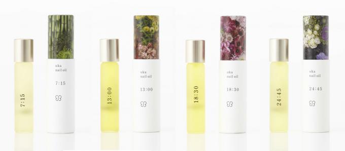 香り付きのネイルオイル4種類