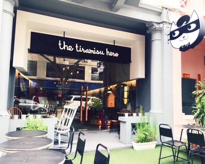 人気ティラミス店のシンガポール本店、海外のスイーツショップ