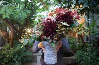 お花を自由に楽しむ「THE LITTLE SHOP OF FLOWERS」のプロダクト