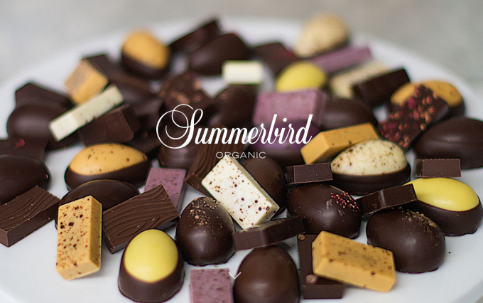 デンマーク発のチョコレートブランド「Summerbird Organic」のチョコレートたち