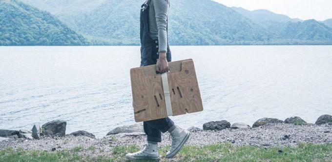 持ち運べるYOKA(ヨカ)のファニチャー