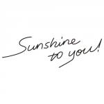 sunshine to you!ロゴ