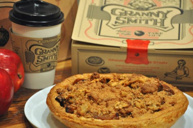 アップルパイ専門店GRANNY SMITHのアップルパイと珈琲