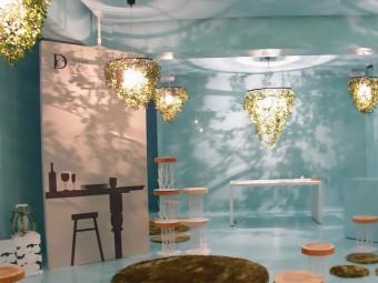 森林浴をしているような気分にいざなう「DI CLASSE」のやすらぎあふれる明かり