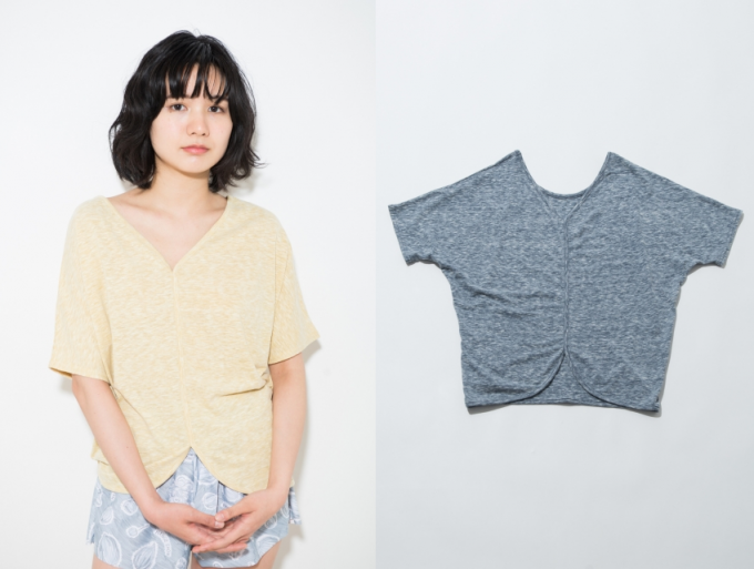 「HANGE SHOW(ハンゲ ショウ)」のオーバーサイズ心地よいTシャツ