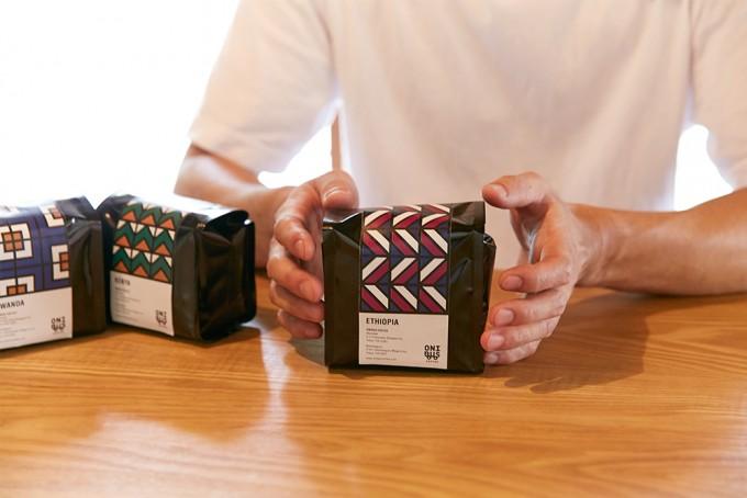 「ONIBUS COFFEE(オニバスコーヒー)」の珈琲豆。