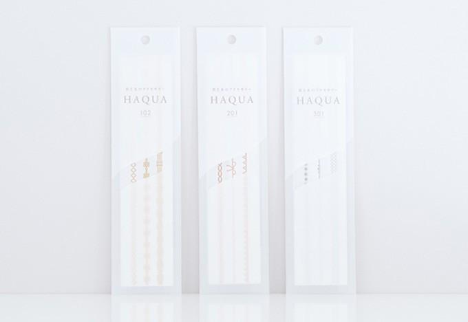 HAQUA3種類の柄