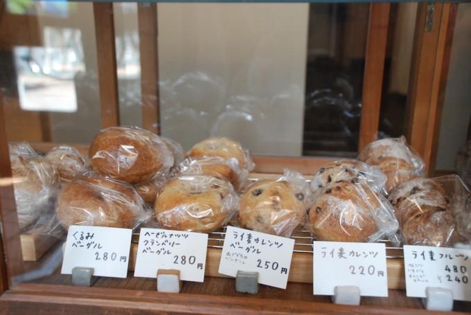 浅草のパン屋「粉花」のベーグル・パン