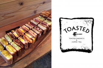 こんがり焼きあがった安心する美味しさ。トーストサンドウィッチのお店「TOASTED」