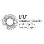 U'U'(ウウ)、陶器アクセサリーのロゴ