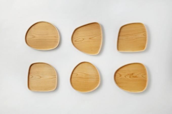 木材のプレート6種類
