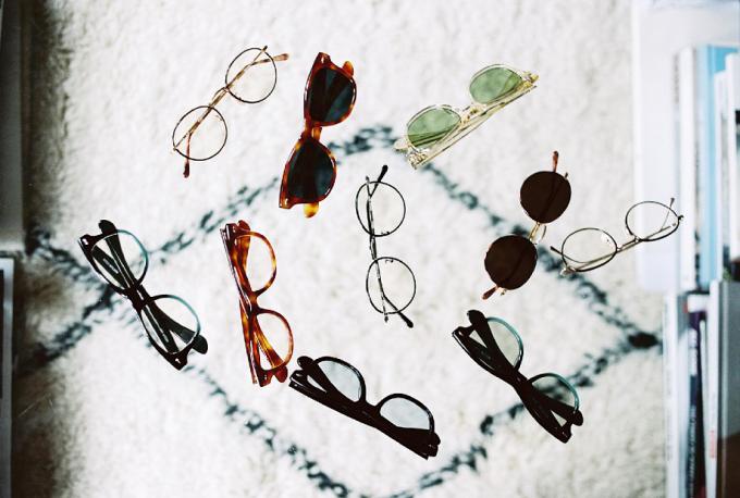 メガネとサングラス数点