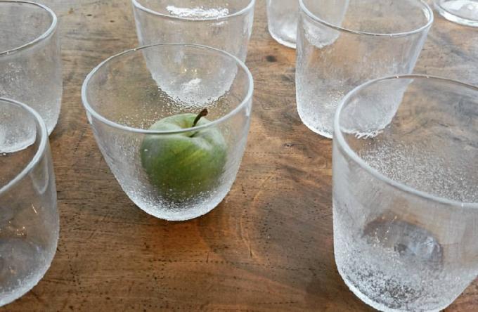 透明なグラス数点