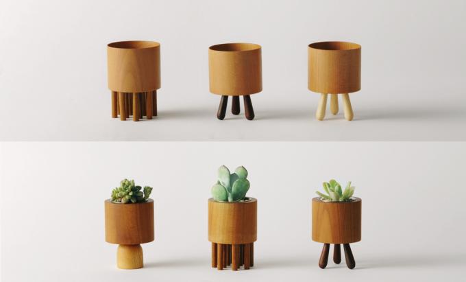 木材のオブジェ6種類