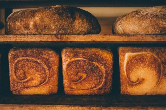 パンと日用品のお店「わざわざ」のシンプルなパン