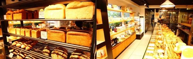 代々木八幡の人気ベーカリー「365日」の独創性溢れるパン屋の店内