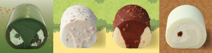 ロールケーキ専門店「ARINCO」。種類は20種