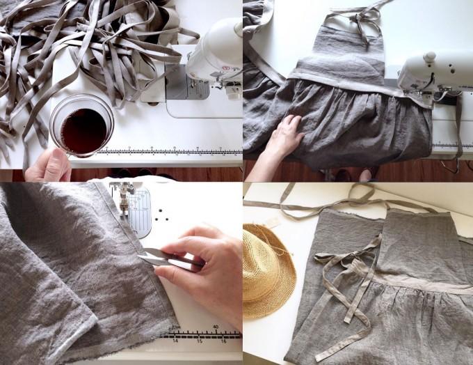 きぬがわあゆみデザイン「アンリネン」のお洋服