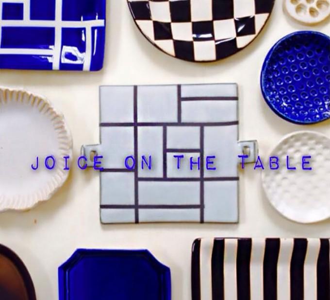 「JOICE ON THE TABLE(ジョイスオンザテーブル)のブルーやブラックのお皿