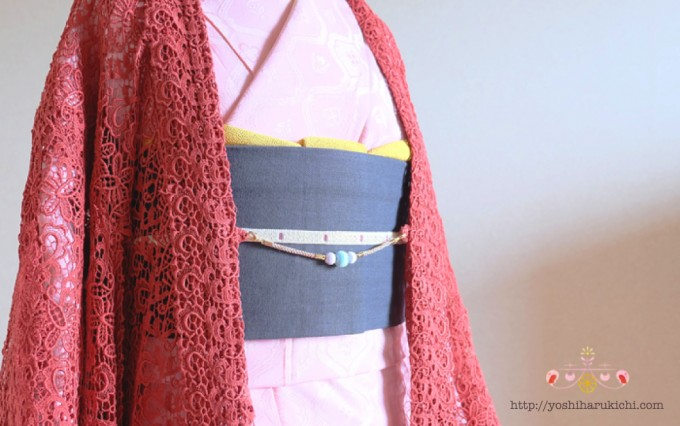 「吉春吉(よしはるきち)」の羽織りひも