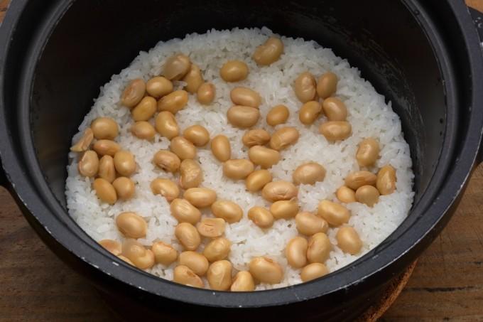 レシピ 煮 大豆 水