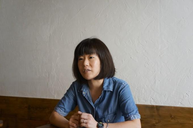 北千住にあるビアパブ「さかづきBrewing」のオーナー、金山尚子さん