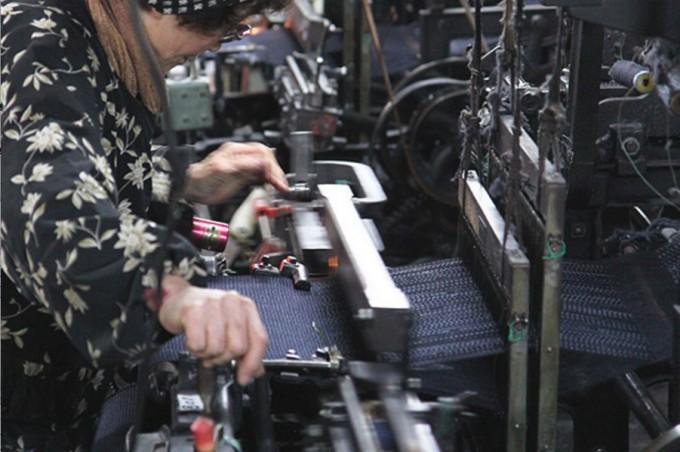 ムーンスターのスニーカー「FINE VULCANIZED」。職人技が光る一足