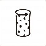 コルク栓のイラスト