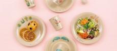 'andsome(アンサム)のお米のもみがらで作ったお皿とカップ数種類