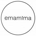 ジュエリーやバッグを作っているハンドメイドブランド「emamima(エマミマ)」のロゴ