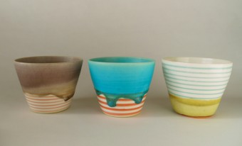 暮らしを楽しくする優しいグラデーション。「Yoshinori Takemura」さんの陶芸作品