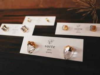 大切に身につけたい、氷のように繊細な美しさ。「sorte glass jewelry」のガラスジュエリー