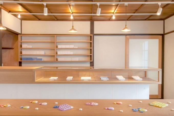 京都の和菓子屋「UCHUwagashi(ウチュウワガシ)」の西陣店