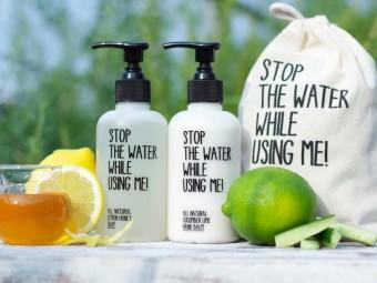 世界初!節水を呼びかけるエコ・コスメブランド「STOP THE WATER WHILE USING ME!」