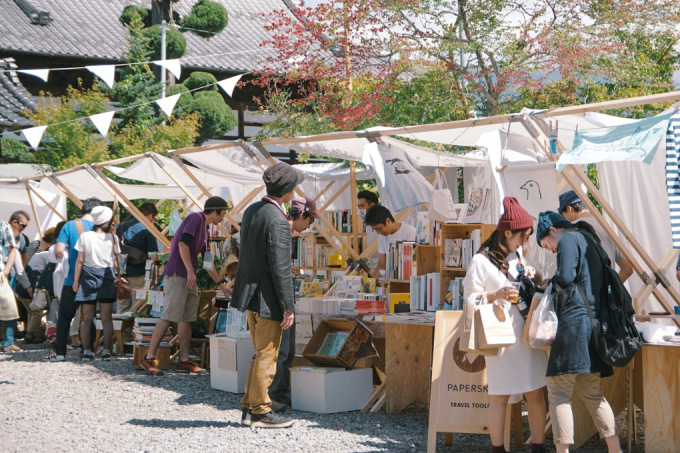 Loppis Ueda(ロッピスウエダ)に出店しているブースの様子