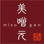 お味噌汁専門店「美噌元(ミソゲン)」のロゴ
