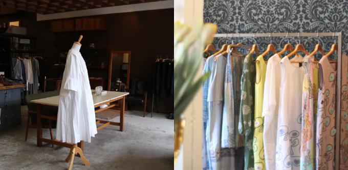kuukukka(クークッカ)の店内と洋服