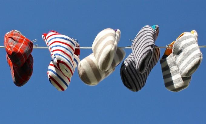 自宅で洗濯できる新感覚スリッパ「merippa(メリッパ)」5足の写真