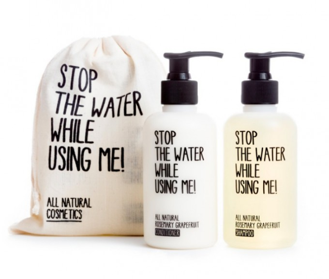 STOP THE WATER ヘアケアスターターキット