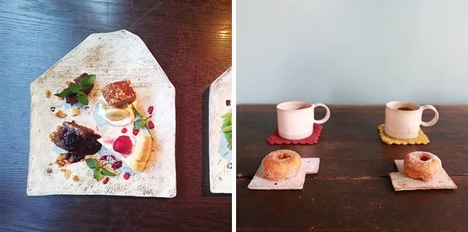 お家のお皿とカップ&ソーサー
