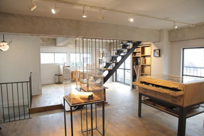 フランス刺繍作家小林モー子「メゾン・デ・ペルル」の室内の写真