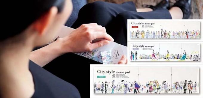 「paperable(ペパラブル)」のおしゃれなファッションシティメモの写真