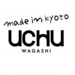 京都の和菓子屋「UCHUwagashi」のロゴ